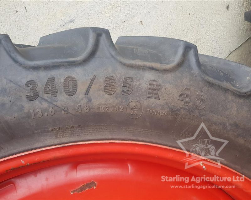 340/85R48 and 320/90R32 Fendt Rowcrops